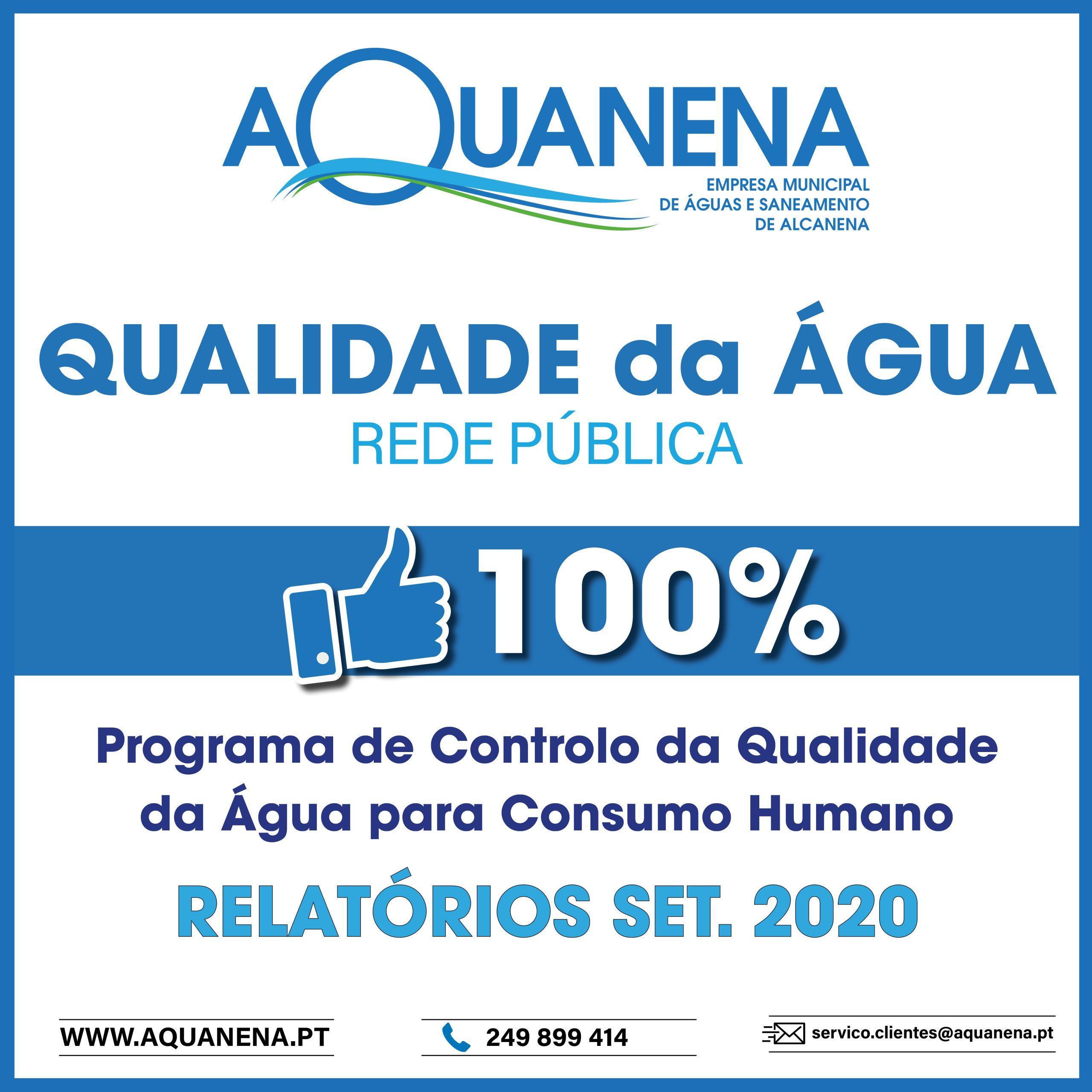 Água para consumo humano cumpre critérios a 100% no concelho de Alcanena
