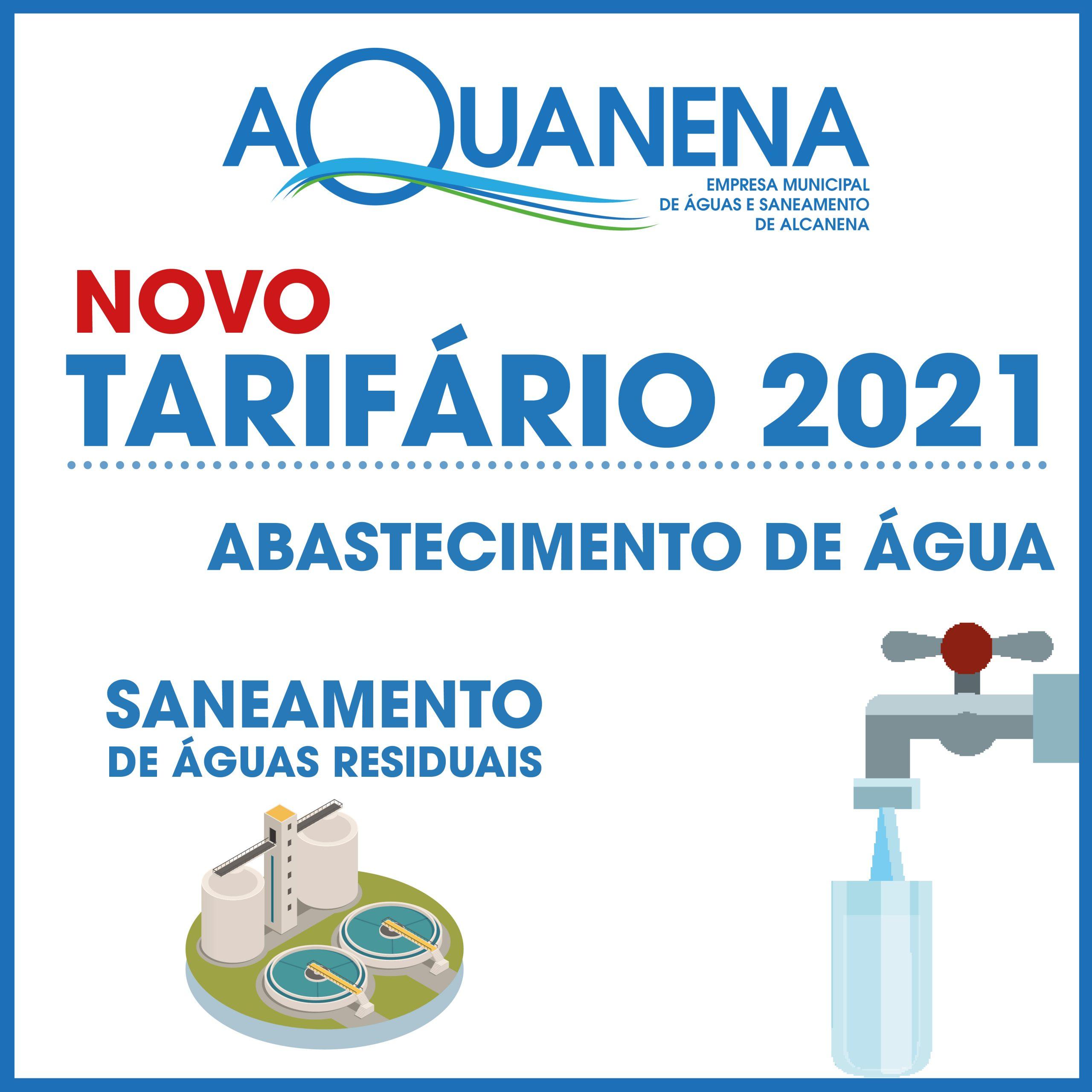 NOVO Tarifário de serviços para 2021