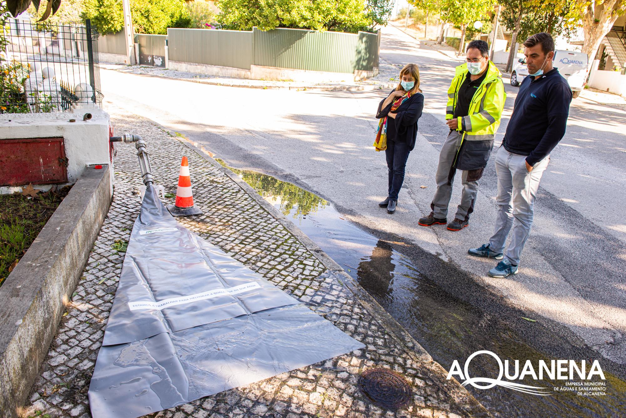 Dia Nacional da Água | AQUANENA investe na melhoria do abastecimento de água com limpeza de condutas